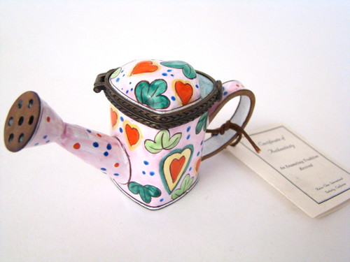 Kelvin Chen Red Hearts Enamel Watering Can EC1110 (EC1110)