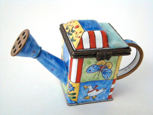 Kelvin Chen Butterfly and Duck Enamel Watering Can EC1103 (EC1103)
