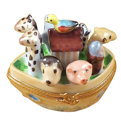 Rochard NOAH'S ARK Limoges Box RB001-J