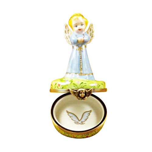 BLUE ANGEL Limoges Box RR221-J