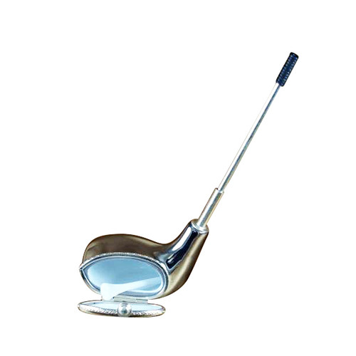SILVER STREAK DRIVER WITH REMOVABLE TEE Limoges Box RS102-J