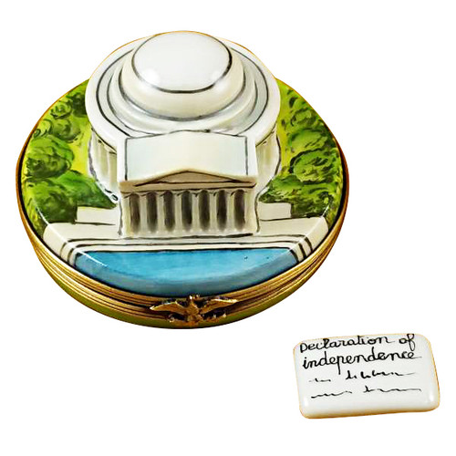 Rochard Jefferson Memorial Limoges Box RT246-I