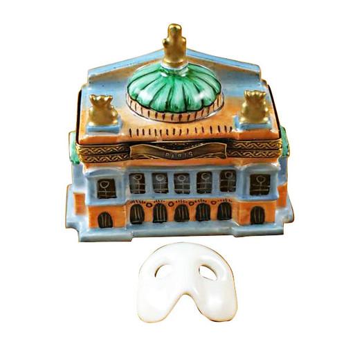 Rochard Small Paris Opera House Limoges Box RT259-I