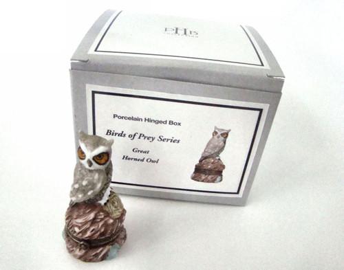 Birds of Prey Great Horned Owl PHB