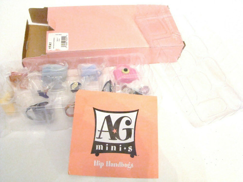 American Girl AG Mini Boutique HIP HANDBAGS Boxed Set YFA1 (YFA1)
