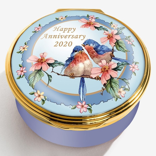 Halcyon Days 2020 Happy Anniversary Box ENHA200601G