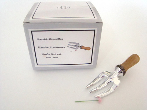 Midwest of Cannon Falls Garden Fork with Rose PHB