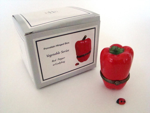 Red Pepper with Ladybug PHB 34567-2