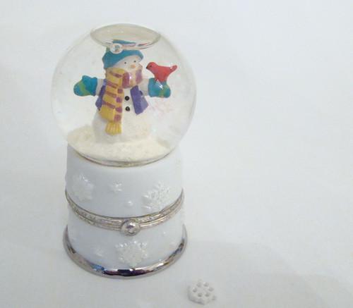 Snowman Snowglobe with Snowflake PHB (41305-0)