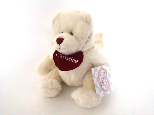Personalized Angel Bear Christine