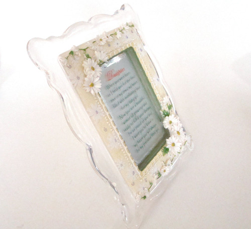 DAUGHTER - Musical Decorative Frame with Daughter Poem (RM-7004)