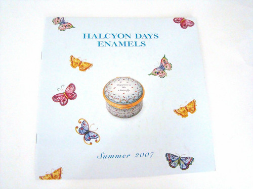 Halcyon Days Summer 2007 Catalog For Reference Only