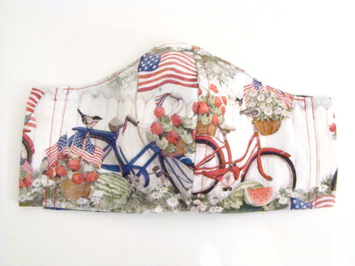 Face Mask - Biking Americana