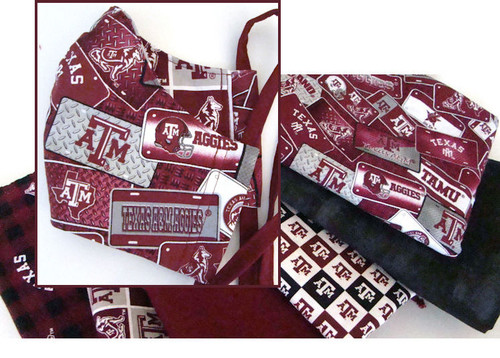 Face Mask - License - Texas A&M Aggies