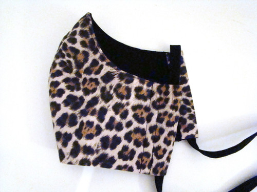 Face Mask - LFace Mask - Leopard and Black (FM-LEOPARD-BLACK)eopard and Black (FM-LEOPARD-BLACK)