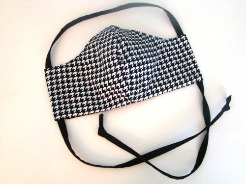 Classic Houndstooth Black and White (FM-HOUNDSTOOTH-BW)