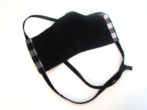 Face Mask - Classic Plaid Black and White