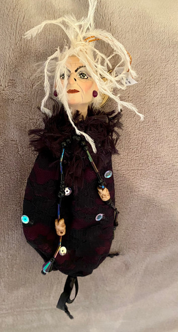 Katherine's Collection Zitella Witch Candy Bag