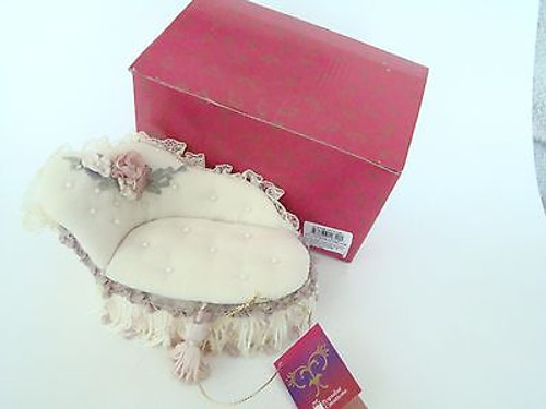 Tassel Popular Creations Sofa Couch Jewelry Box with Tassels