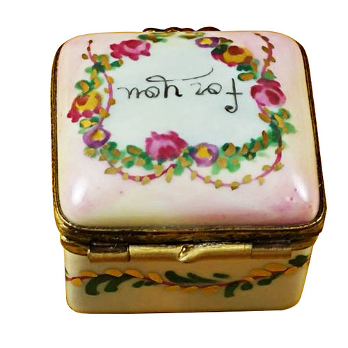 Square - For You Rochard Limoges Box