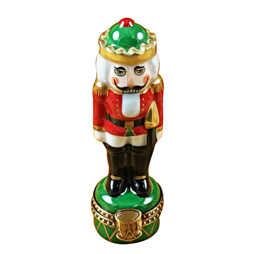 Rochard NUTCRACKER ON GREEN BASE Limoges Box RX001-I