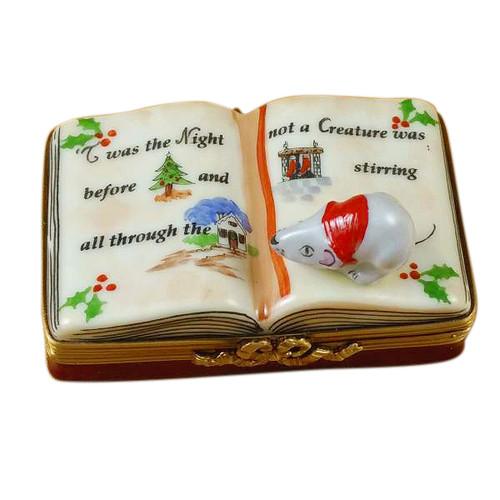 Twas The Night Before Christmas Book Rochard Limoges Box