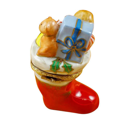 Christmas Boot Rochard Limoges Box