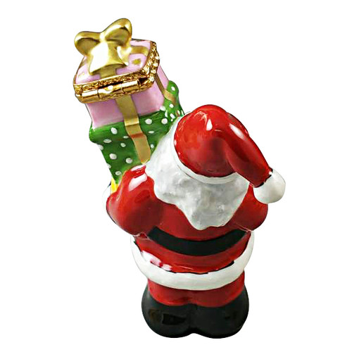 Santa With Presents Rochard Limoges Box