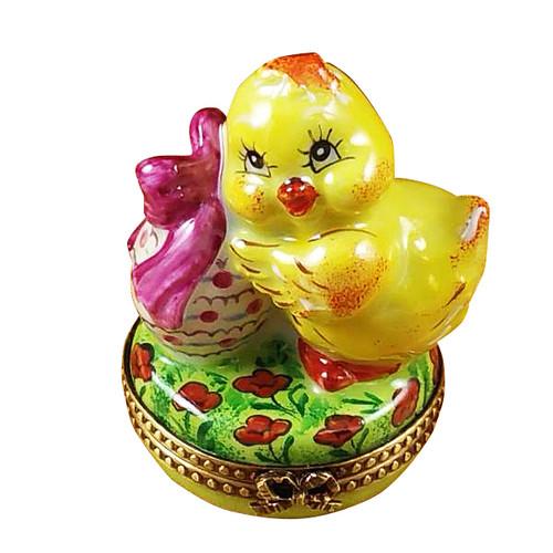 Easter Chick Rochard Limoges Box