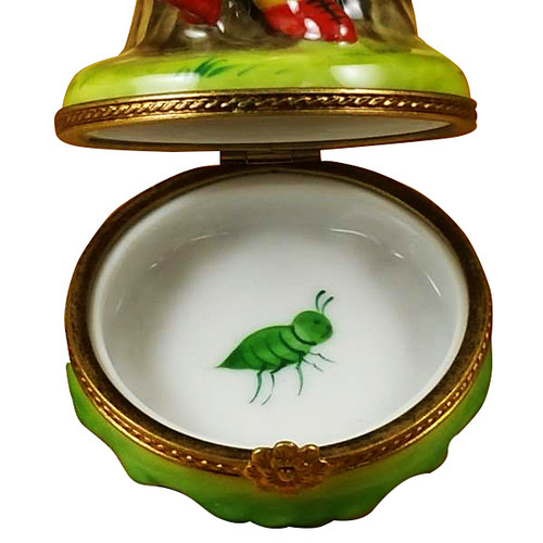 Ladybug W/Book Rochard Limoges Box