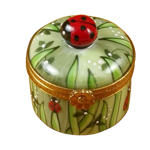 Ladybug In Grass Rochard Limoges Box