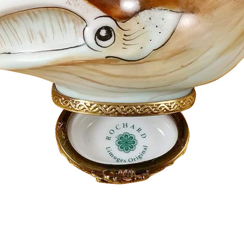 Whale Rochard Limoges Box