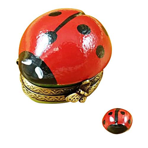 Ladybug W/Baby Rochard Limoges Box