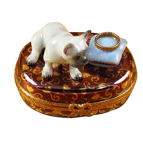 French Bulldog Rochard Limoges Box