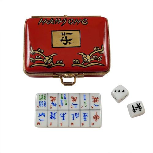 Mahjong Set Rochard Limoges Box RG022