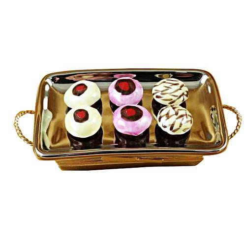 Cupcake Tray Rochard Limoges Box
