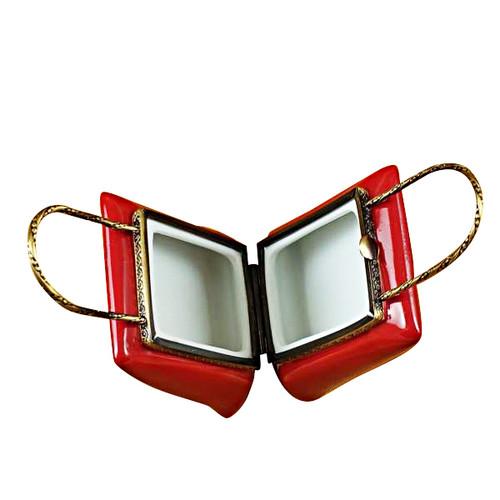 Christmas Shopping Bag Limoges Box RL066-G