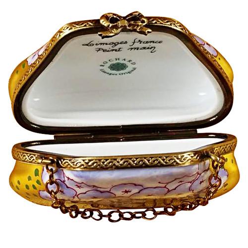 Purse Hydrangea Rochard Limoges Box