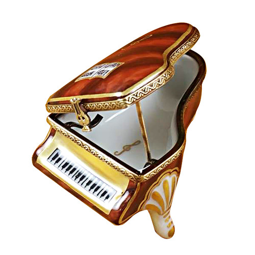 Mini Piano Rochard Limoges Box
