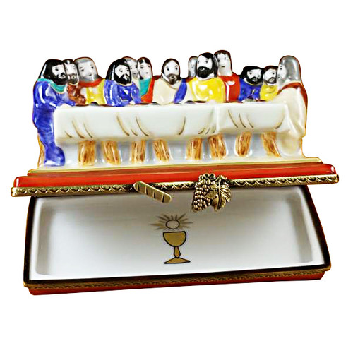 Last Supper Rochard Limoges Box