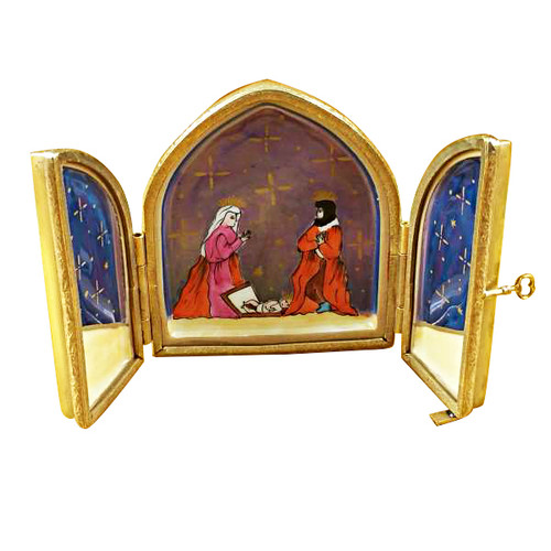 Nativity- Triptych Rochard Limoges Box