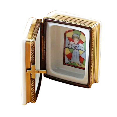 White Bible Rochard Limoges Box