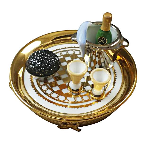 Caviar & Champagne Rochard Limoges Box