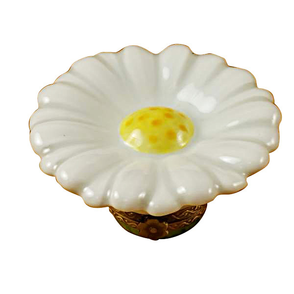 Limoges Imports White Daisy Limoges Box