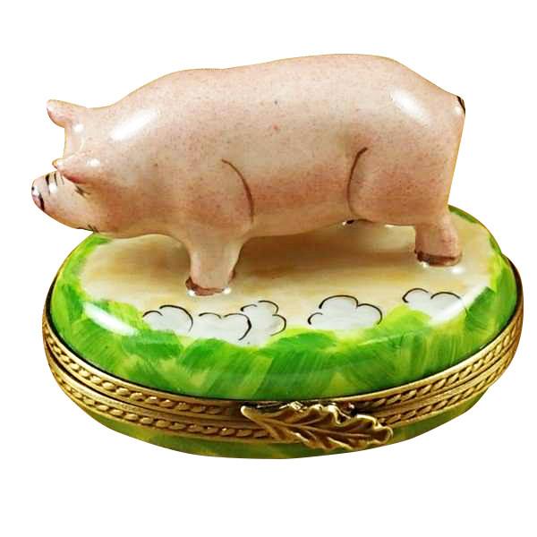 Pig Rochard Limoges Box
