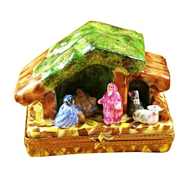 Manger-Nativity Rochard Limoges Box