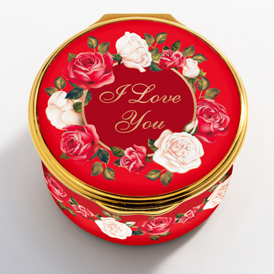 The 2020 St. Valentine's Day Enamel Box has arrived!