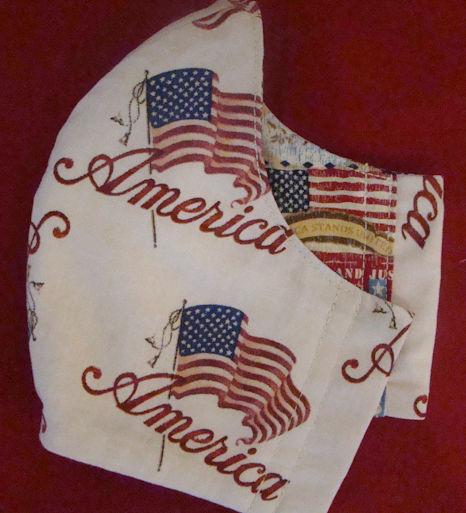 America Face Mask
