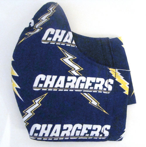 Chargers Cloth Face Mask