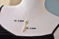PEAS IN A POD necklace (white freshwater pearls)